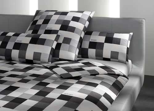 joop bettw sche mosaik 4003 99 kiesel aktuelle kollektion 155x220 ebay. Black Bedroom Furniture Sets. Home Design Ideas