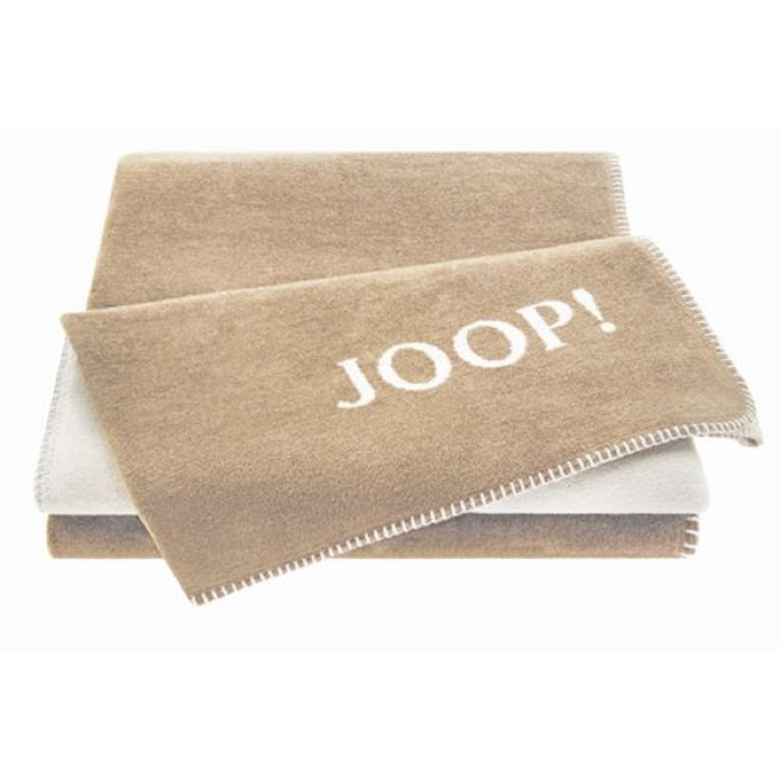 joop uni doubleface wohndecke 564320 sand pergament. Black Bedroom Furniture Sets. Home Design Ideas