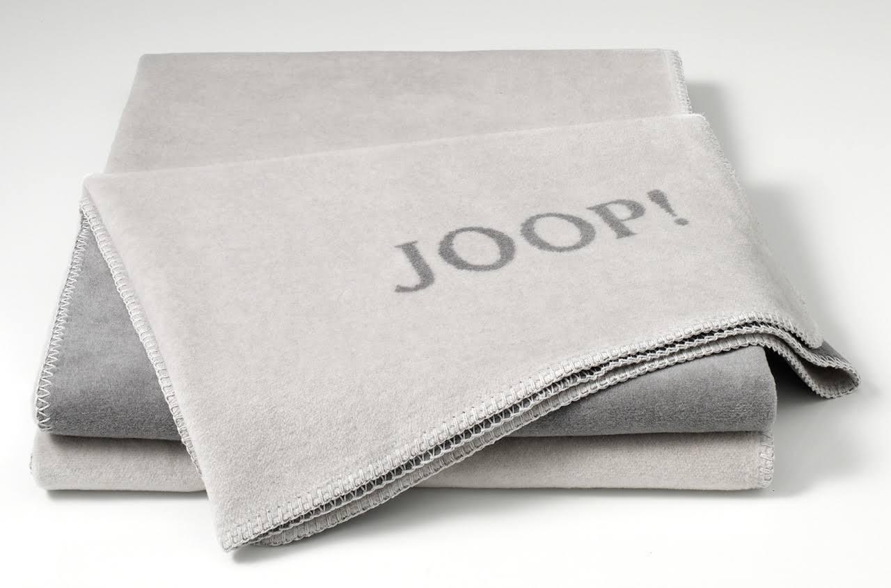 decken von joop joop uni doubleface wohndecke decke asche. Black Bedroom Furniture Sets. Home Design Ideas